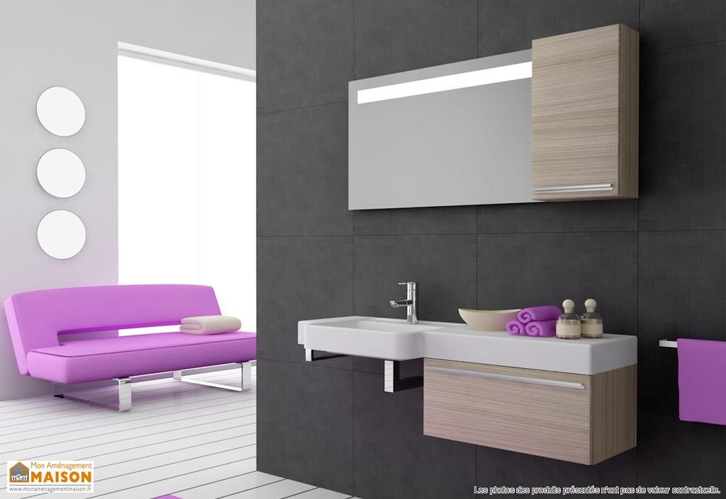 Meuble salle de bain maison id es novatrices de la for Meuble salle de bain maison